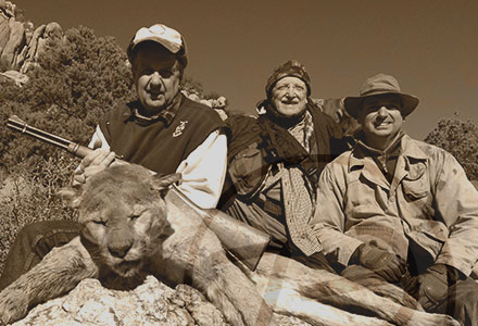 family mountain lion hunting trip Photos